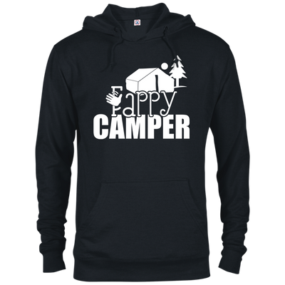"""Fappy Camper"" French Terry Hoodie"