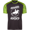 """Feed my Horses"" CamoHex T-Shirt"