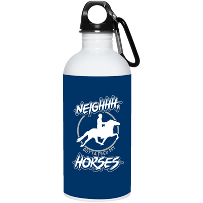 """Feed my Horses"" Stainless Water Bottle"