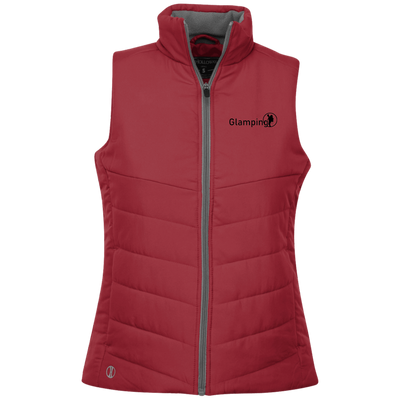 """Glamping"" Holloway Ladies' Quilted Vest"