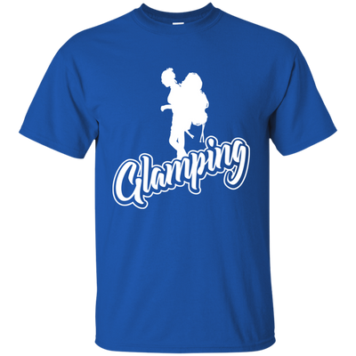 """Glamping"" Ultra Cotton T-Shirt"