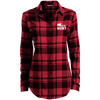 """Grunt Hunt"" Ladies' Flannel Tunic"