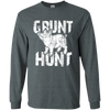 """Grunt Hunt"" LS Ultra Cotton T-Shirt"