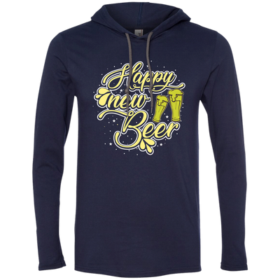 """Happy New Beer"" T-Shirt Hoodie"