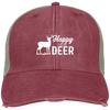 """Happy New Deer"" Adams Ollie Cap"