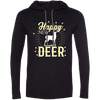 """Happy New Deer"" T-Shirt Hoodie"