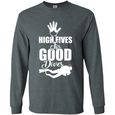 """High Fives"" LS Ultra Cotton T-Shirt"