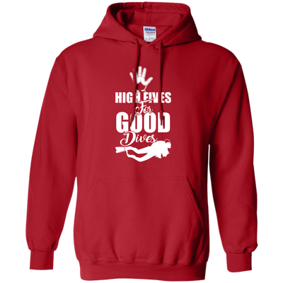 """High Fives"" Pullover Hoodie"