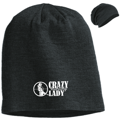 """Hunting Crazy Lady"" District Slouch Beanie"