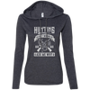 """Hunting isn't Wrong"" Ladies' LS T-Shirt Hoodie"