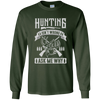 """Hunting isn't Wrong"" LS Ultra Cotton T-Shirt"