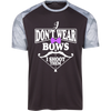 """I Don't Ware Bows"" CamoHex T-Shirt"
