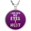 """I Hunt"" Circle Necklace"