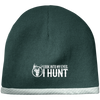 """I Hunt"" Knit Cap"