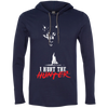 """I Hunt the Hunter"" LS T-Shirt Hoodie"
