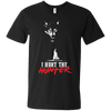 """I Hunt the Hunter"" Men's V-Neck T-Shirt"