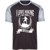 """I Love Hikings"" CamoHex T-Shirt"