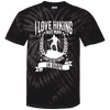 """I Love Hikings"" Tie Dye T-Shirt"