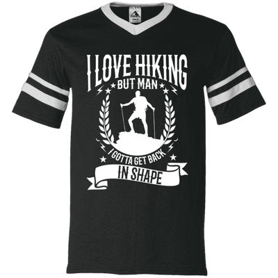 """I Love Hikings"" V-Neck Jersey"