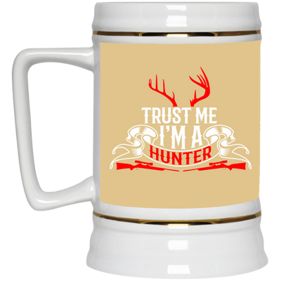 """I'm a Hunter"" Beer Stein"