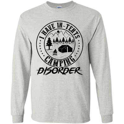 """In-Tents Camping Disorder"" LS Ultra Cotton T-Shirt"