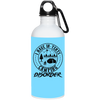 """In-Tents Camping Disorder"" Stainless Water Bottle"