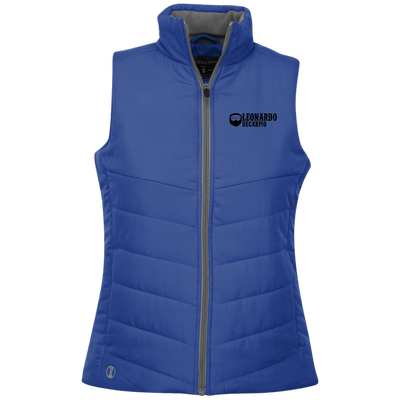 """Leonardo DeCarpio""Ladies' Quilted Vest"