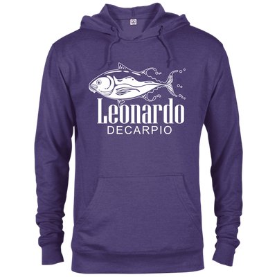 """Leornardo DeCarpio"" French Terry Hoodie"