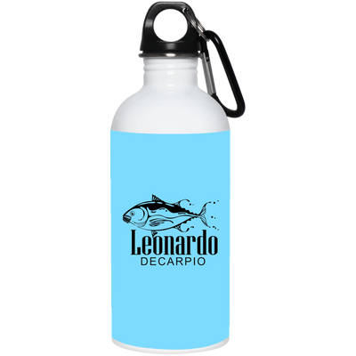 """Leornardo DeCarpio"" Stainless Steel Water Bottle"