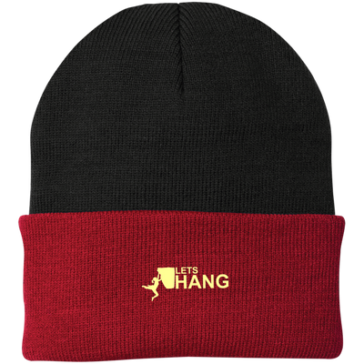 """Let's Hang"" Authority Knit Cap"