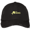 """Let's Hang"" Distressed Dad Cap"