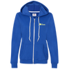 """Let's Hang"" Ladies Hooded Fleece"