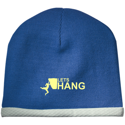 """Let's Hang"" Performance Knit Cap"
