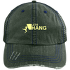 """Let's Hang"" Unstructured Trucker Cap"