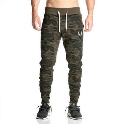 Light Camo Casual Joggers