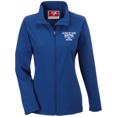 """Liking Hunting Hiking"" Ladies' Soft Shell Jacket"