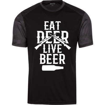 """Live Beer"" CamoHex T-Shirt"