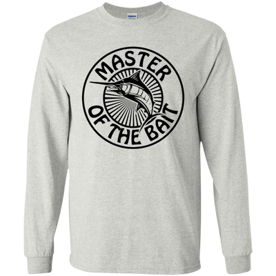 """Master Bait"" LS Ultra Cotton T-Shirt"