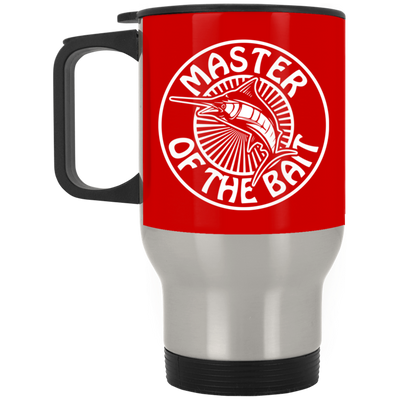 """Master Bait"" Stainless Travel Mug"