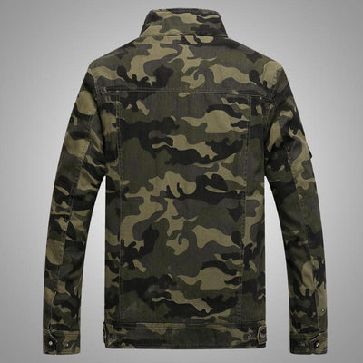 Mens Tactical Camouflage Jacket