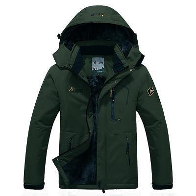 Mens Winter Fleece Jacket