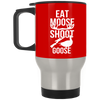 """Moose Goose"" Stainless Travel Mug"
