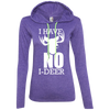 """No I-Deer"" Ladies' T-Shirt Hoodie"