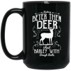 """Nothing Bette"" 15 oz. Black Mug"