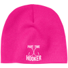 """Part Time Hooker"" Acrylic Beanie"