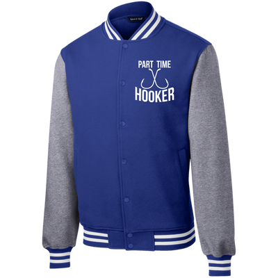 """Part Time Hooker"" Letterman Jacket"