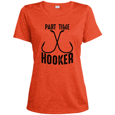 """Part Time Hooker"" Womens' Dri-Fit T-Shirt"