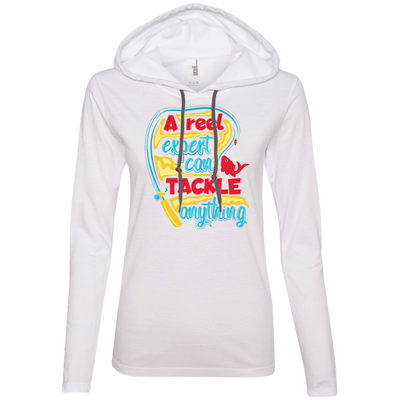"""Reel Tackler"" Anvil Ladies' Hoodie"
