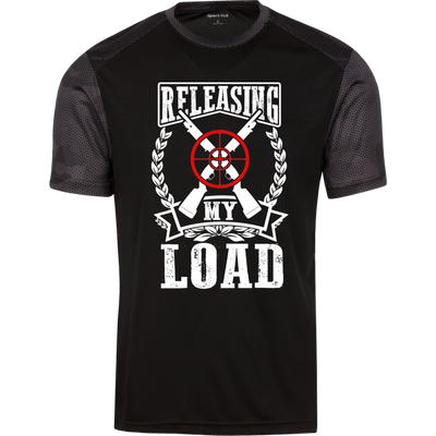 """Releasing my Load"" CamoHex T-Shirt"