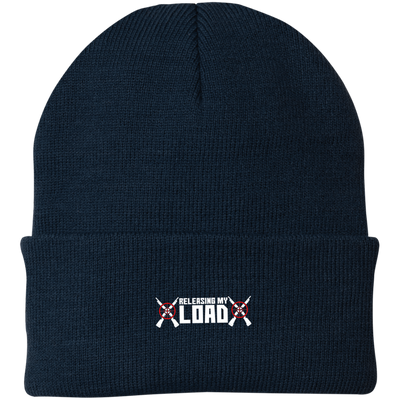 """Releasing my Load"" Knit Cap"